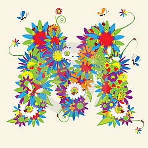Letter-m-floral-design-thumb10372703